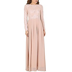 AX Paris - Cream embellished floaty maxi dress