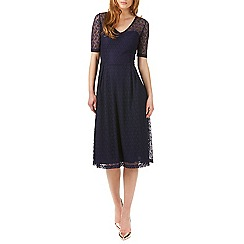 Sugarhill Boutique - Navy imelda lace midi dress