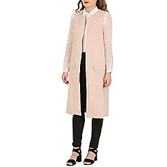 Oeuvre - Cream sleeveless trench coat