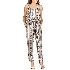 Mela - Multicoloured aztec jumpsuit