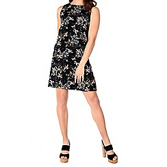 Alice & You - Black printed shift dress