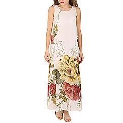 Izabel London - White flower print dress