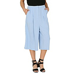 Cutie - Blue pocketed culottes