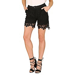 Cutie - Black lace shorts