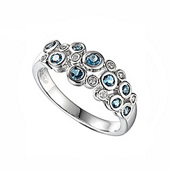 Amore Argento - Silver rhapsody bubble ring