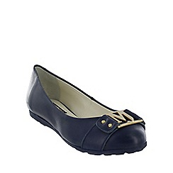 Marta Jonsson - Navy leather pumps