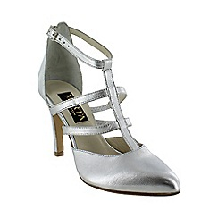 Marta Jonsson - Silver strappy court shoes