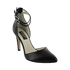 Marta Jonsson - Black ankle strap court shoes