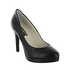 Marta Jonsson - Black snake effect court shoe