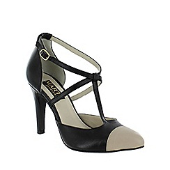 Marta Jonsson - Black t bar court shoe