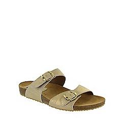 Marta Jonsson - Gold footbed sandal