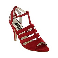 Marta Jonsson - Red caged sandal