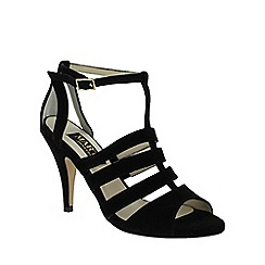 Marta Jonsson - Black suede caged sandal