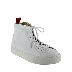 Marta Jonsson - White high-top trainers