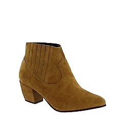 Marta Jonsson - Tan slip on ankle boot