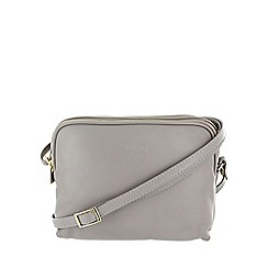 Marta Jonsson - Grey multi compartment across body bag