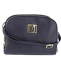 Marta Jonsson - Navy multi compartment across body bag