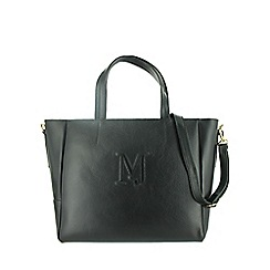 Marta Jonsson - Black leather shoulder bag