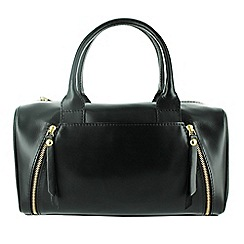Marta Jonsson - Black leather grab bag