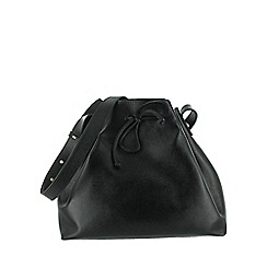 Marta Jonsson - Black shoulder pouch bag