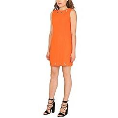Cutie - Orange ring detail dress