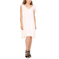 Pussycat London - White tie shoulder crepe tunic