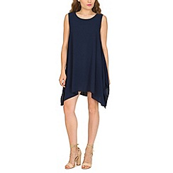 Pussycat London - Navy plain swing tunic