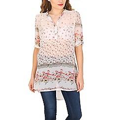 Amaya - Pink printed shirt