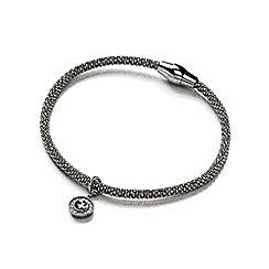Bouton - Grey magnetic mesh bracelet