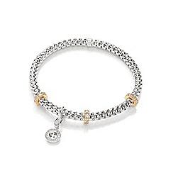 Bouton - Silver jewellesh mesh bracelet