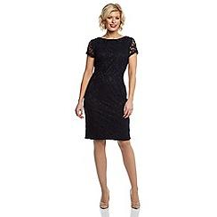 Roman Originals - Navy chic lace dress