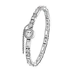 Bouton - Silver 'i love you' bracelet