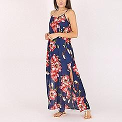 Voulez Vous - Navy floral maxi dress