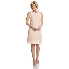 Roman Originals - Pink lace shift dress