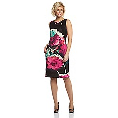 Roman Originals - Pink scuba printed dress