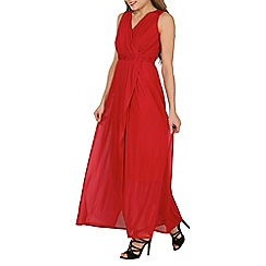 Solo - Red maxi prom dress