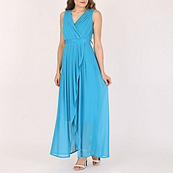 Solo - Turquoise maxi prom dress