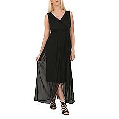 Solo - Black maxi prom dress