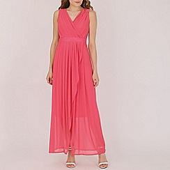 Solo - Peach maxi prom dress