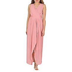 Solo - Pink maxi prom dress