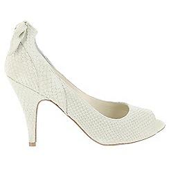 Marta Jonsson - Beige shoe with peep toe