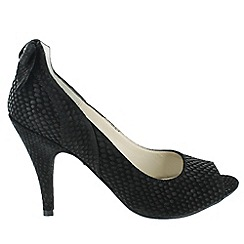 Marta Jonsson - Black shoe with peep toe