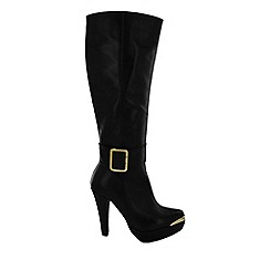 Marta Jonsson - Black knee high boot