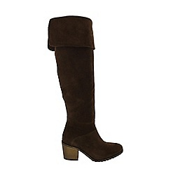 Marta Jonsson - Brown over the knee boot