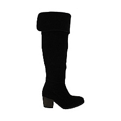 Marta Jonsson - Black over the knee boot