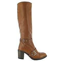 Marta Jonsson - Brown knee high boot