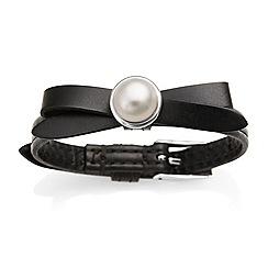 Jersey Pearl - Black joli fwp bracelet