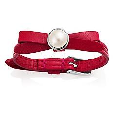 Jersey Pearl - Red joli fwp bracelet