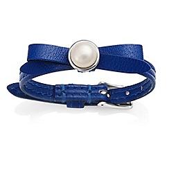 Jersey Pearl - Blue joli fwp bracelet