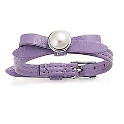 Jersey Pearl - Lilac joli fwp bracelet